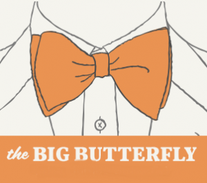 Big Butterfly Bow Tie