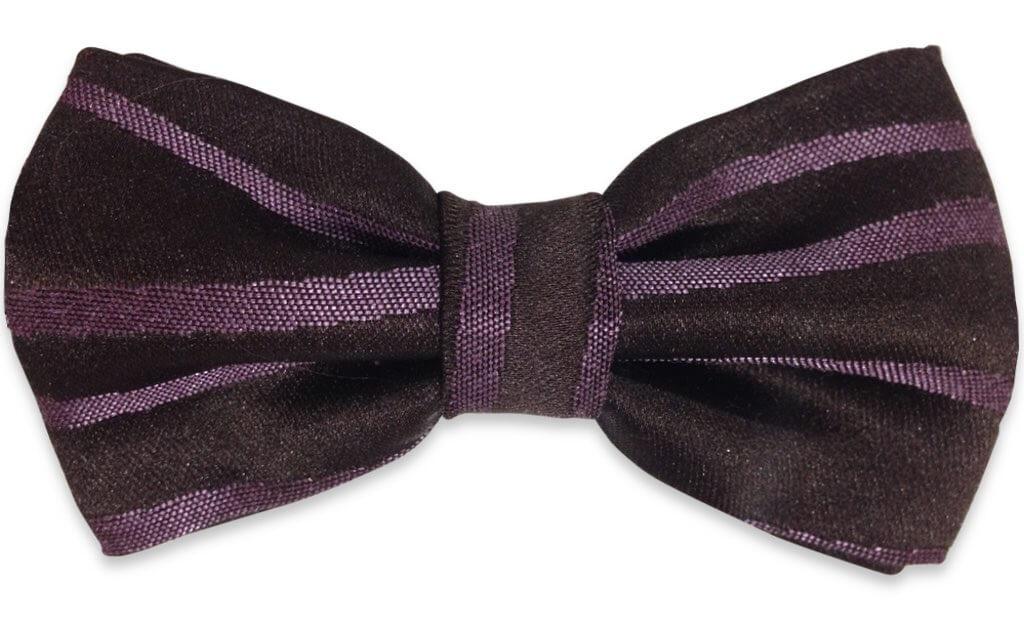 black & purple cufflinks