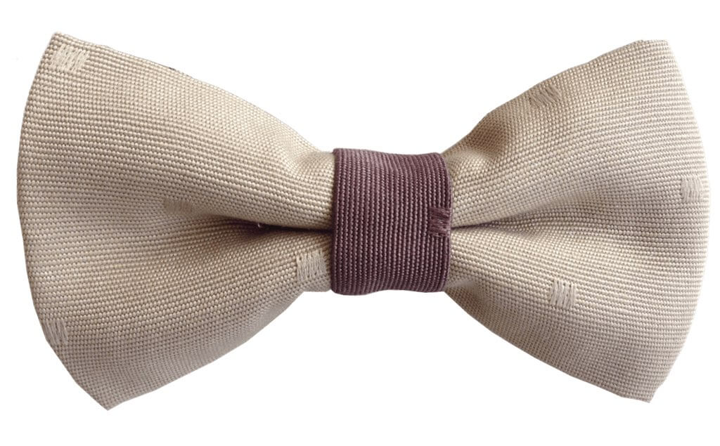 brown two bow tie model 1