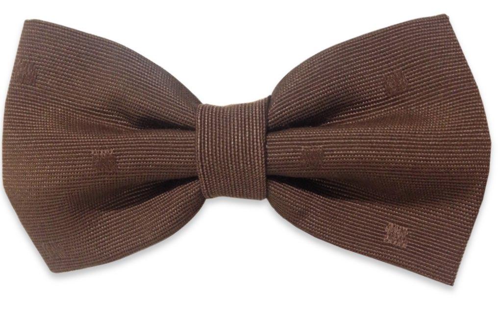 chocolat plain bow tie