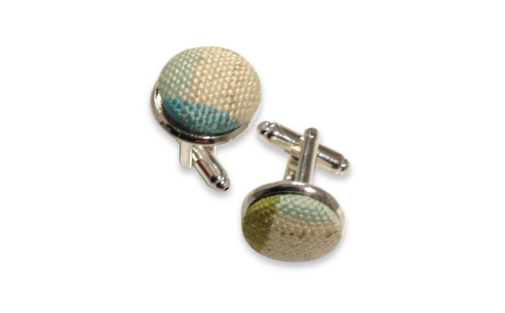 plaids cufflinks